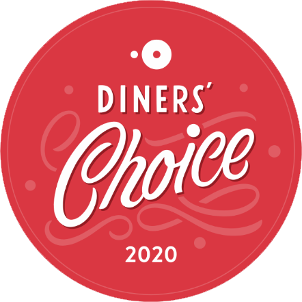 2020 OpenTable Diners Choice award winner