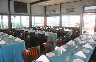 Private Dining in Sam's Chowder House Harbor View Room