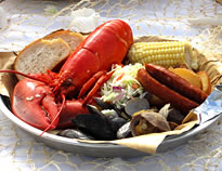 Lobster Clambakes at Sam's Chowder House