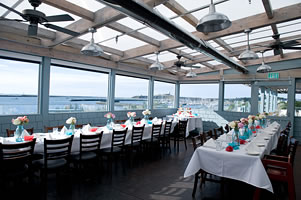 Wedding at Sam's Chowder House Ocean Terrace